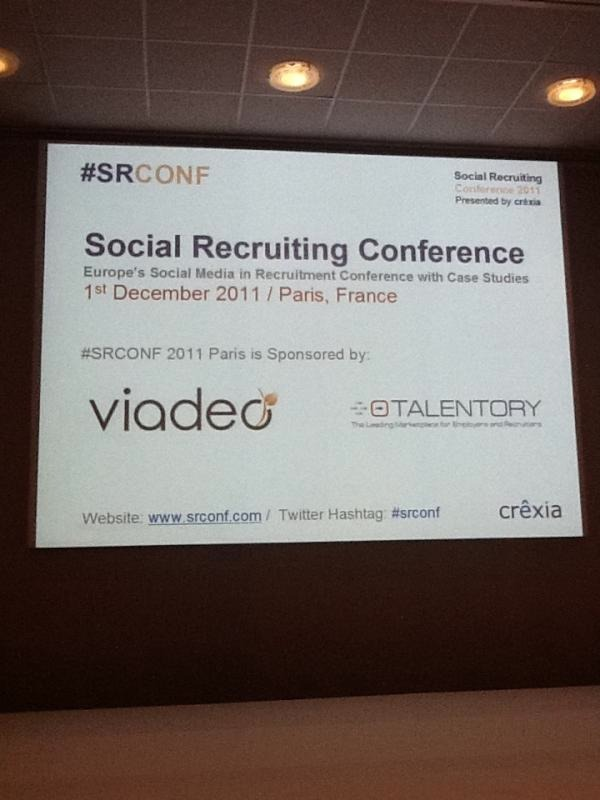 Social Recruiting Conference Paris : J+1