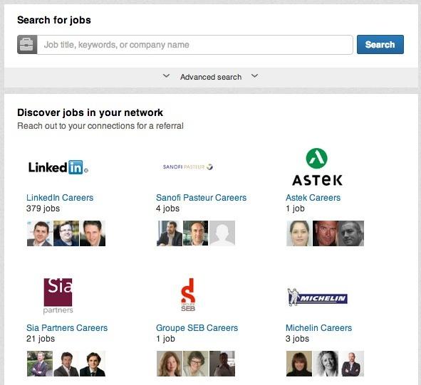 LinkedIn améliore la recherche collaborative d'offres d'emploi